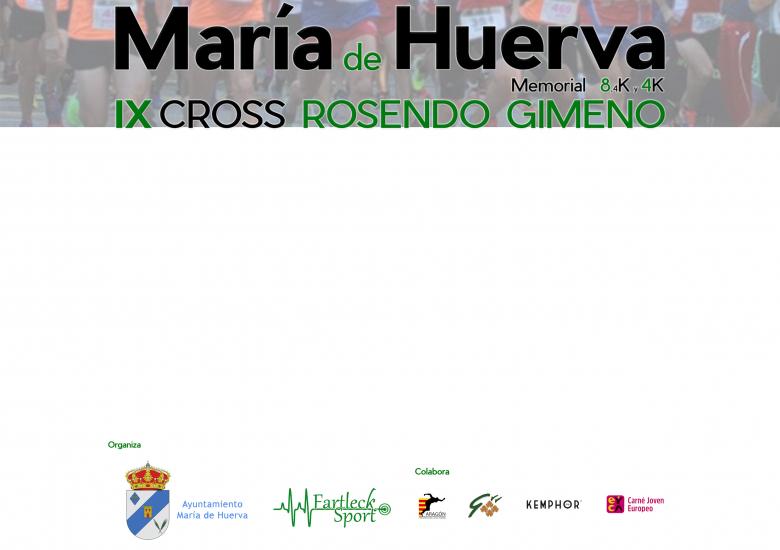 #YoVoy - DAVID (IX CROSS MEMORIAL ROSENDO GIMENO. MARÍA DE HUERVA 2019)
