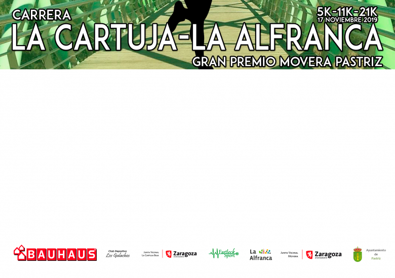 #YoVoy - JAVIER (IV CARRERA LA CARTUJA LA ALFRANCA 5K - 11K - 21K  GRAN PREMIO MOVERA PASTRIZ 2019)