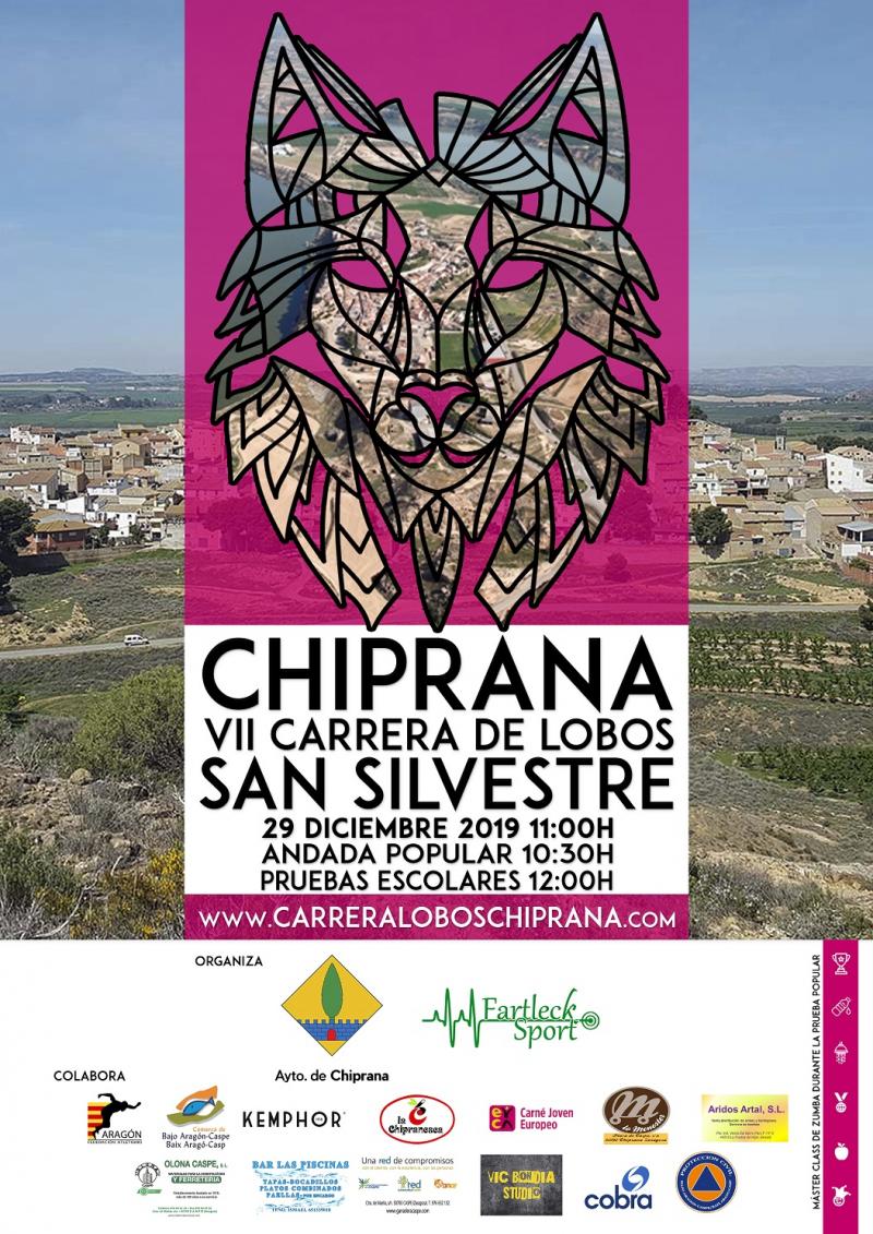 VII CARRERA LOBOS CHIPRANA 2019  - Inscríbete