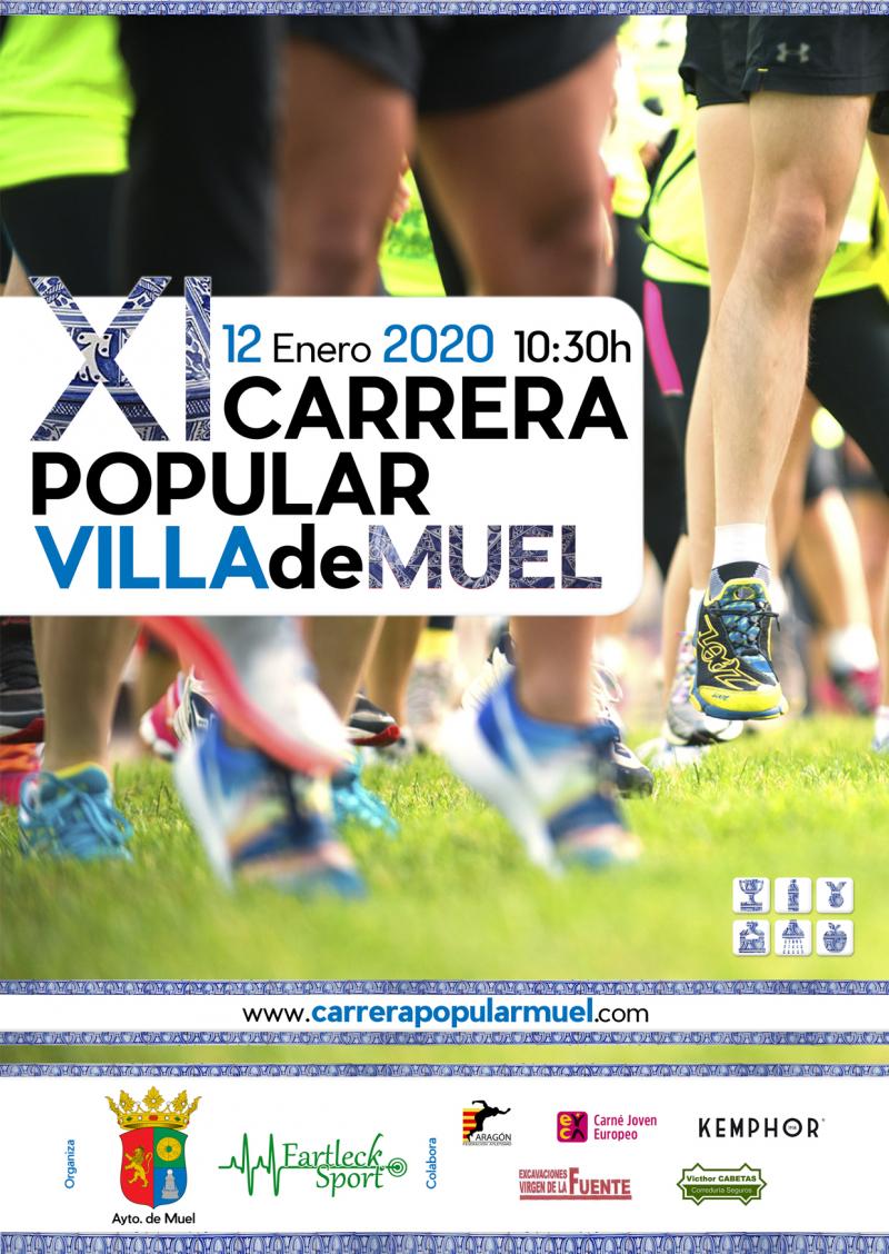 CARRERA POPULAR MUEL 2020  - Inscríbete