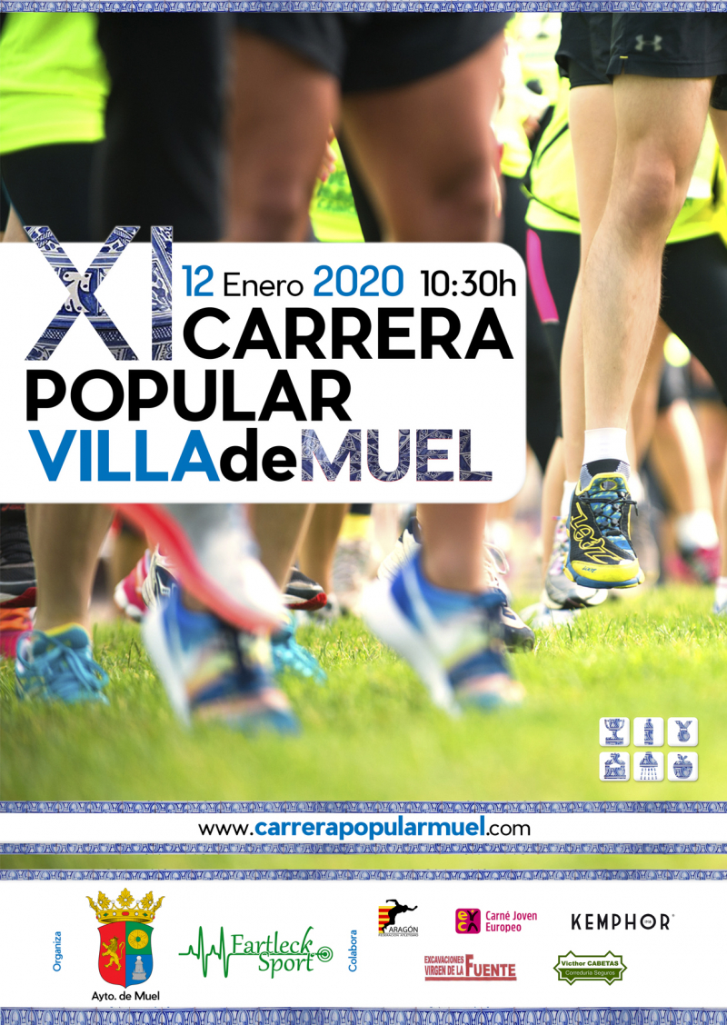 CARRERA POPULAR MUEL 2020  - Inscríbete
