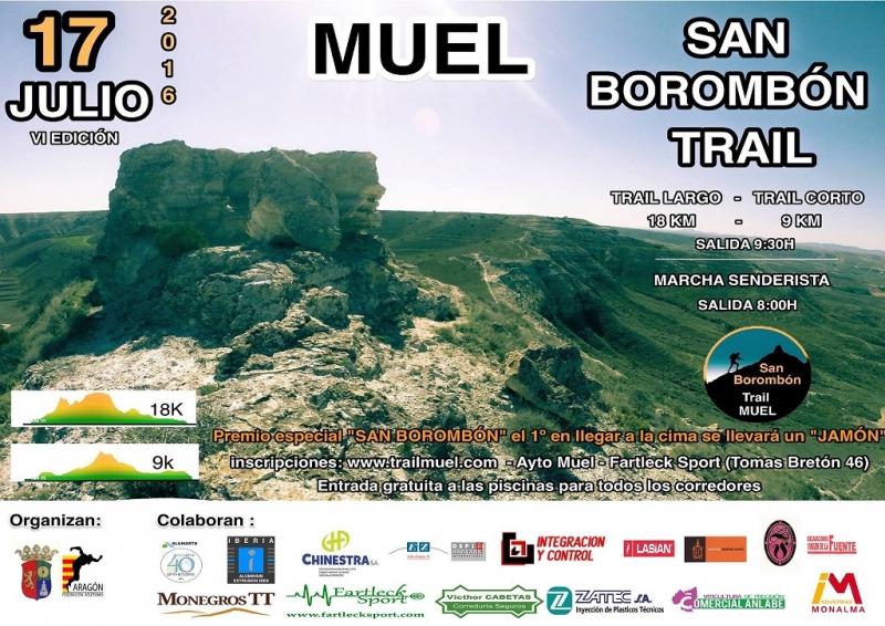 VI TRAIL MUEL. CABEZO DE SAN BOROMBÓN - Inscriu-te