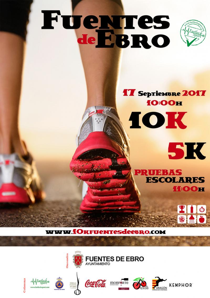 10K 5K FUENTES DE EBRO - Inscríbete