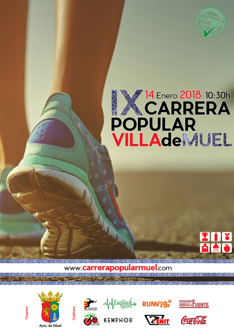CARRERA POPULAR MUEL 2018 - Inscríbete