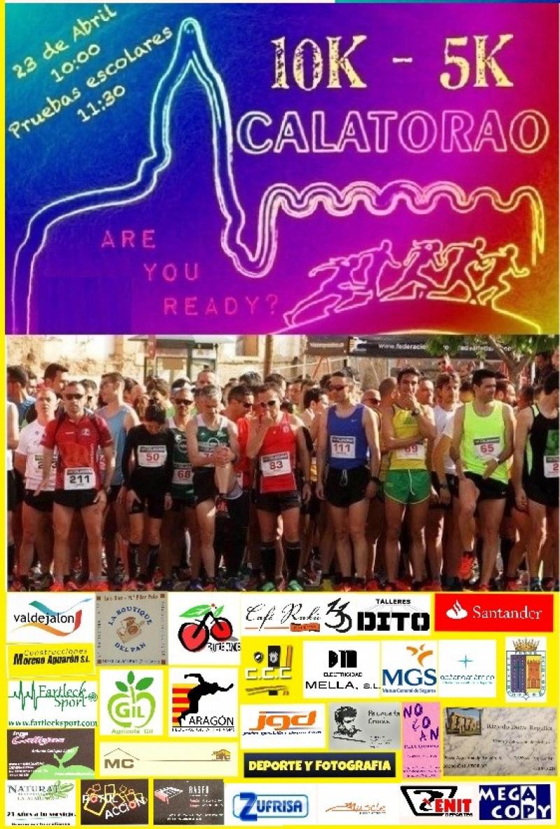 10K-5K CALATORAO 2018 - Inscríbete