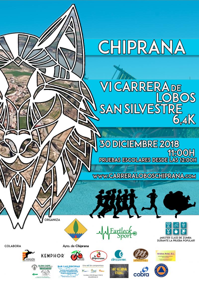 VI CARRERA LOBOS CHIPRANA 2018 - Inscríbete