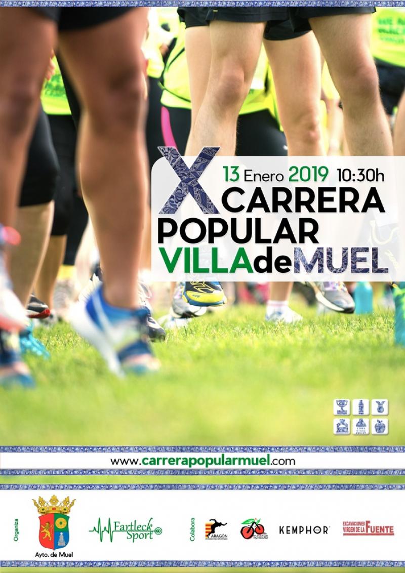 CARRERA POPULAR MUEL 2019 - Inscríbete
