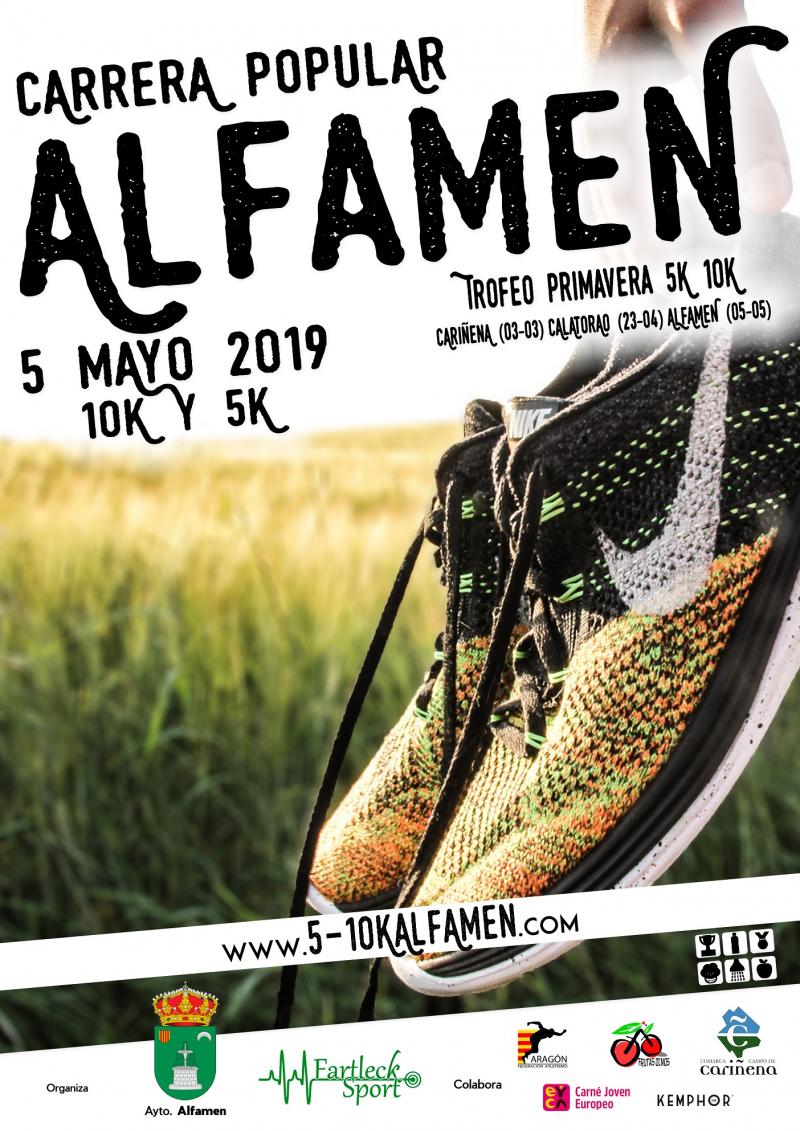 X 5K 10K POPULAR ALFAMEN 2019 - Inscríbete
