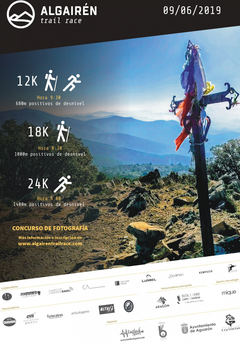 ALGAIREN TRAIL RACE  2019 - Inscríbete