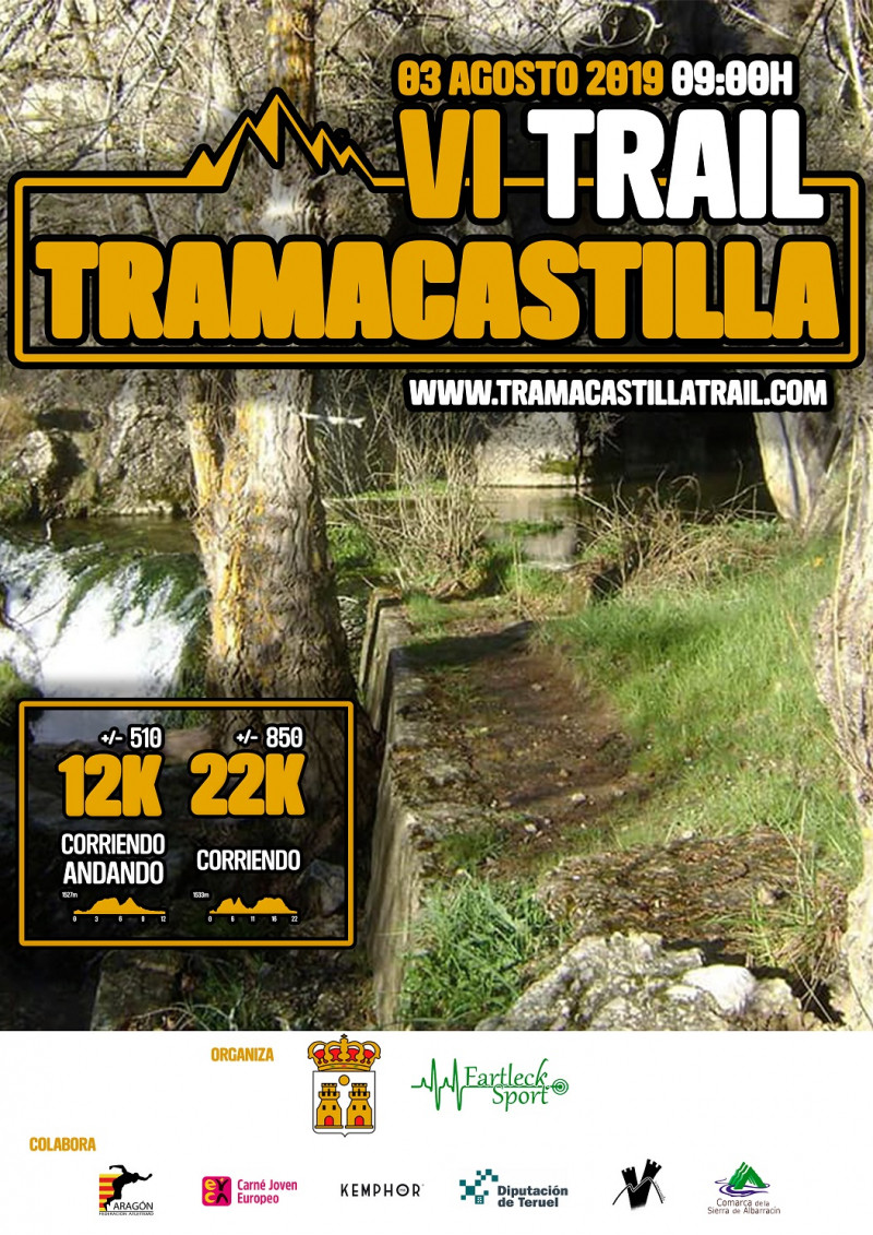 TRAMACASTILLA TRAIL  2019 - Inscríbete