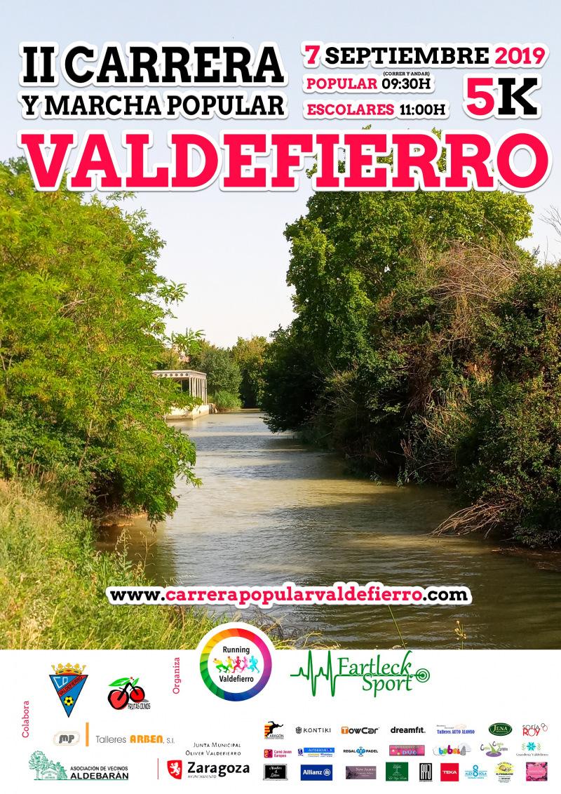 II CARRERA Y MARCHA POPULAR VALDEFIERRO - Inscríbete