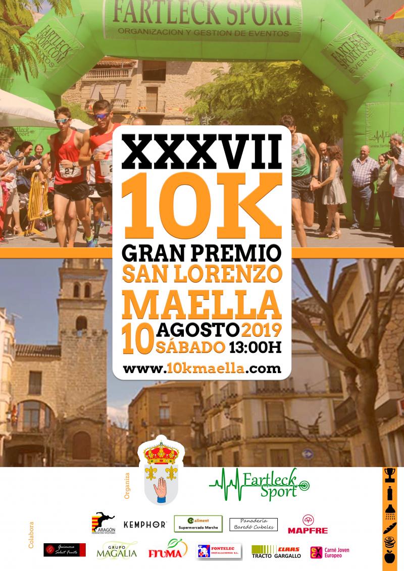 XXXVII GRAN PREMIO MAELLA 10K   - Inscríbete