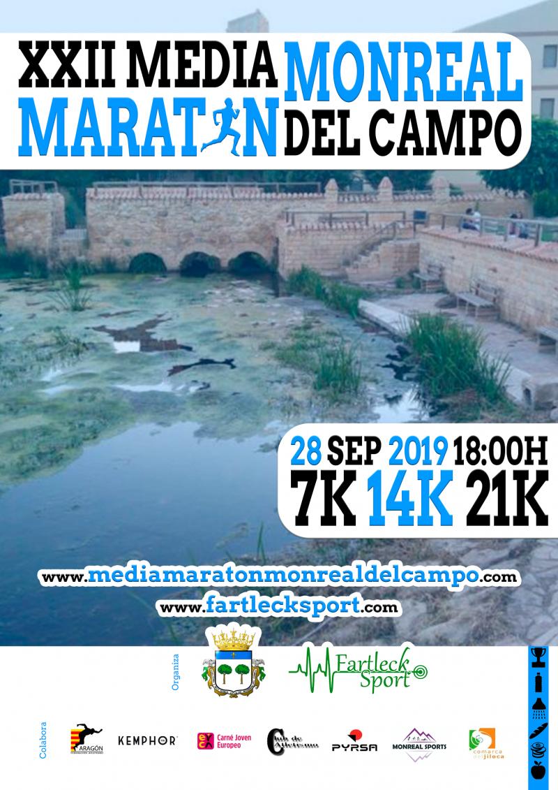 XXII MEDIA MARATÓN VILLA DE MONREAL DEL CAMPO - Inscríbete