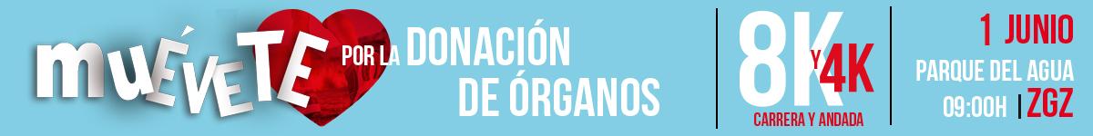 Inscripción - MUÉVETE POR LA DONACIÓN DE ÓRGANOS 2019